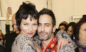 Kate Moss with Marc Jacobs