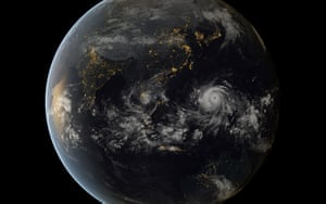 Extreme weather: Typhoon Haiyan Seen Approaching The Philippines