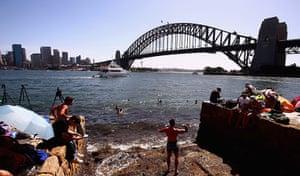 NYE in Australia: People take up position along Sydney Harbour