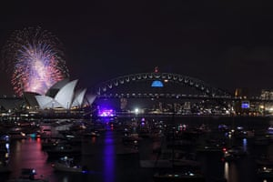 NYE in Australia: The dazzling display at Sydney Harbour continues