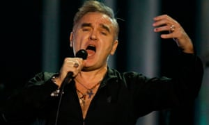 English singer Morrissey sings at the Nobel peace prize concert in Oslo