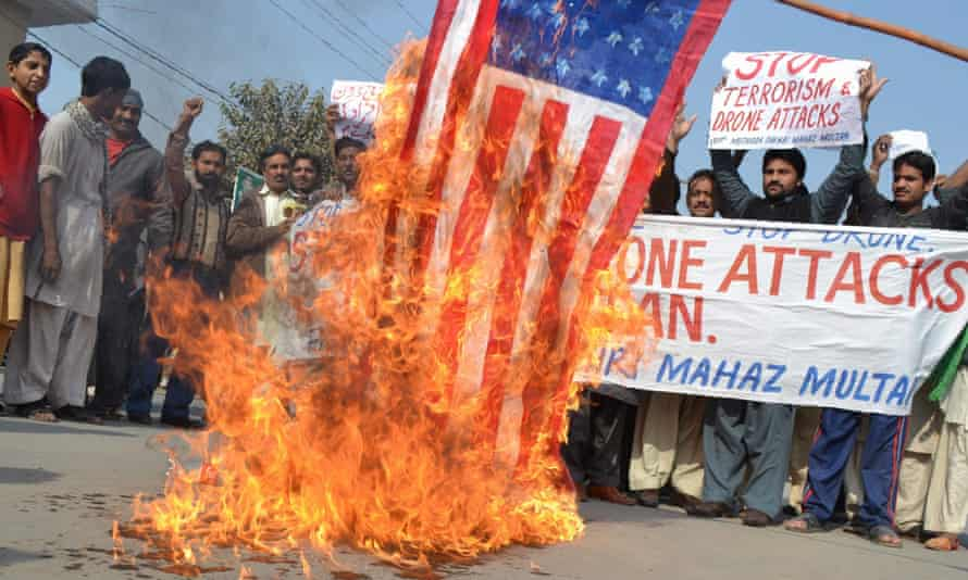 Protest against US drone attacks