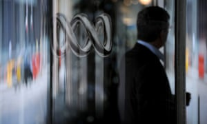 The Australia Broadcasting Corporation (ABC) logo is pictured at their studios in Ultimo, Sydney, Monday, Dec. 1, 2008. (AAP Image/Tracey Nearmy) NO ARCHIVING