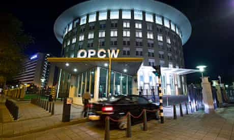 Headquarters in The Hague of the Organisation for the Prohibition of Chemical Weapons