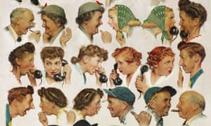 Norman Rockwell's The Gossips. AP Photo/Sotheby's