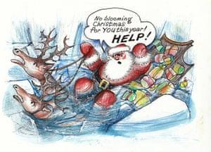 Greenpeace: Greenpeace Save Santas Home Christmas card