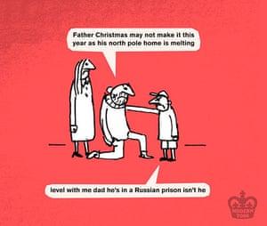 Greenpeace: Save Santas Home Christmas Cards