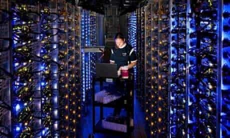 Google data centre, Oregon, US