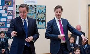 Cameron Clegg similar pose