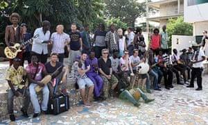 Africa Express at Maison des Jeunes in Bamako, Mali
