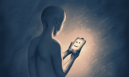 using a smart phone app to alleviate the symptoms of depression