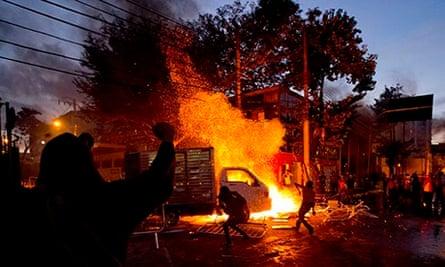 Brazil street protest
