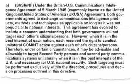 draft 2005 NSA directive ragout 1