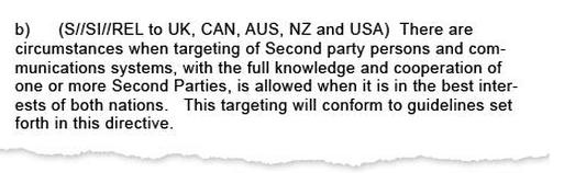 draft NSA directive 2005 ragout 2