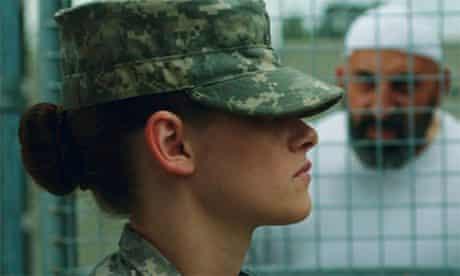 Kristen Stewart in Camp X-Ray