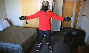 Antarctica Live: Alok Jha in cold-weather gear