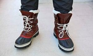 Antarctica Live: specialist boots