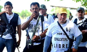 Michoacan Self defense forces