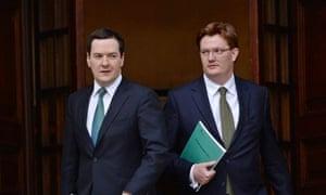 George Osborne and Danny Alexander autumn statement