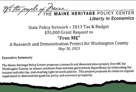 SPN Maine executive summary extract