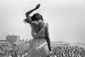 Dennis Stock: Venice Beach Rock Festival, California, 1968