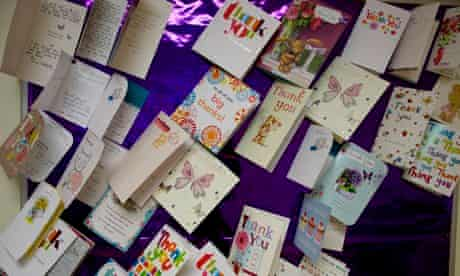Liverpool midwifery: thank-you cards
