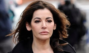 Nigella Lawson arrives at court to give evidence