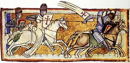 Knights Templar fresco