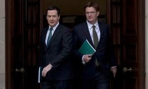 George Osborne with Danny Alexander