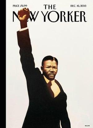 Mandela front pages: Mandela New Yorker