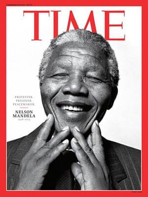 Mandela front pages: Mandela Time