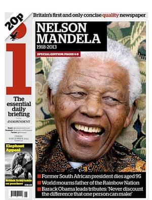 Mandela front pages: i Mandela