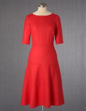 Wool Skater Dress from Boden