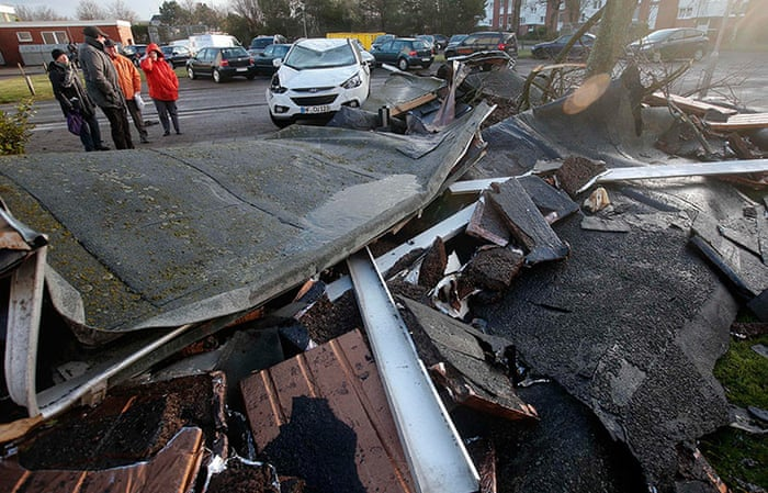 Nowość Storm Xaver batters northern Europe - in pictures   World news WC36