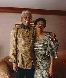 Nelson Mandela and Graça Machel