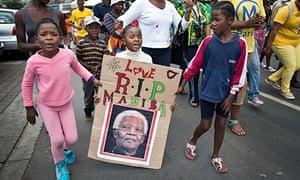 Soweto pays tribute to Mandela