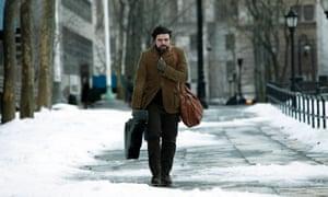 """Oscar Isaac in New York of """"Inside Llewyn Davis."""""""