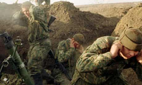 Russian soldiers chechnya war