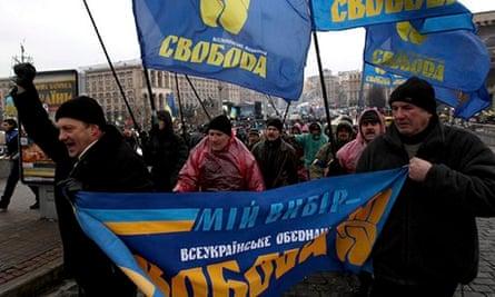 Pro-Europe protests in Ukraine 6 December 2013