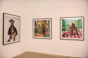 Benin: Zinsou foundation contemporary African art in the Villa Ajavon in Ouidah