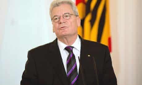 Joachim Gauck, the German president