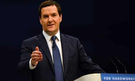 George Osborne, Tory conference, Manchester 30/9/13