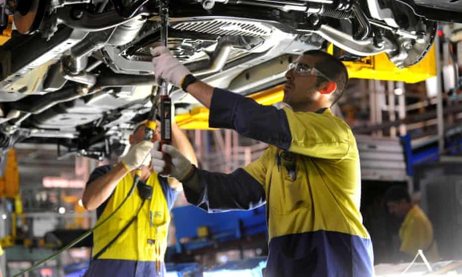 Ford Australia production line Melbourne