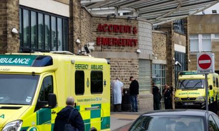Ambulances must wait until