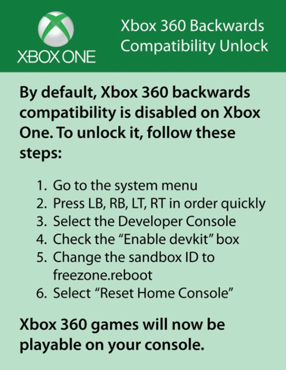 Xbox One: backwards compatibility prank breaks consoles