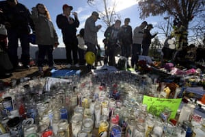 Paul Walker memorial: Thousands of fans attend the memorial near the site in Valencia, California
