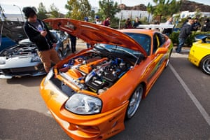 Paul Walker memorial: A car used in one of the Fast and Furious films