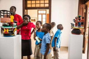Benin: Foundation Zinsou museum in Ouidah, Benin