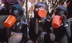 FAMINE, ETHIOPIA, AFRICA - 1985