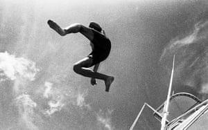 Duran Duran: Simon Le Bon on a much needed winter break in Florida, 1984